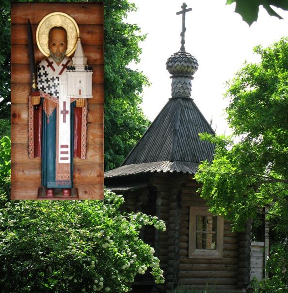 Часовня в честь свят. Николая Угодника на территории храма