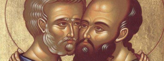 12 июля. Святые апостолы Петр и Павел