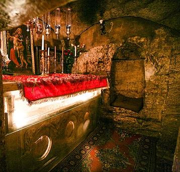 Гробница Божией Матери в Гефсимании. Святая Земля. Иерусалим