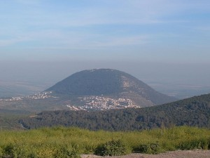 Гора Фавор. Святая Земля. Израиль