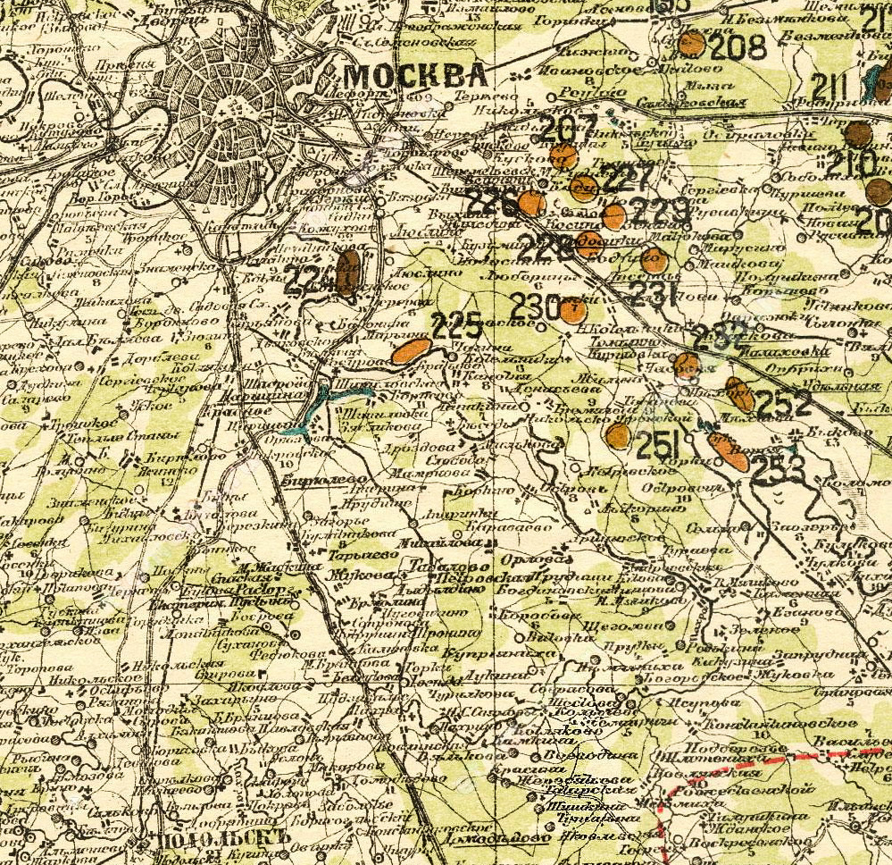 Карты стрельбицкого с привязкой - 7f