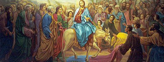 1 апреля. Вход Господень в Иерусалим