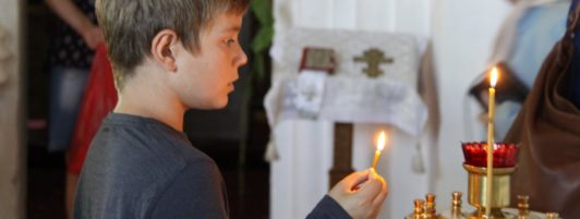 Молебен на благословение учебного года