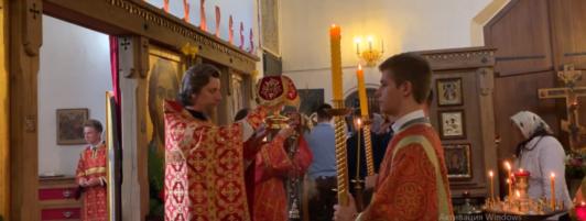 Видео. Литургия на престольный праздник